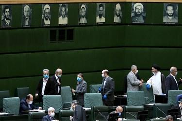 گفتوگو نمایندگان مجلس بعداز پایان رای گیری انتخاب هیات رئیسه مجلس یازدهم