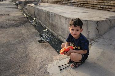 شادی کودکان مناطق محروم اهواز