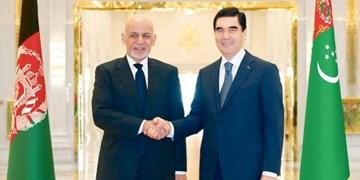 گفتوگوی تلفنی رؤسای جمهوری ترکمنستان و افغانستان