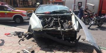 تصادف شدید در شهرری یک مصدوم  بر جای گذاشت