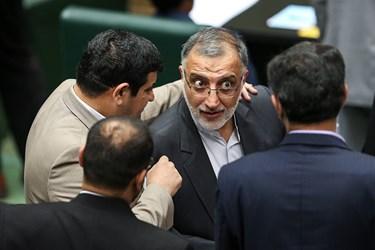 علیرضا زاکانی نماینده مردم قم در دومین نشست مجلس یازدهم/ انتخاب هیات رئیسه