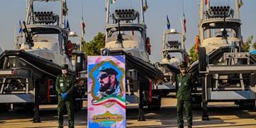عکس| الحاق دهها فروند شناور رزمی به نیروی دریایی «سپاه»