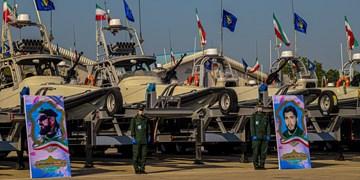 فیلم| الحاق دهها فروند شناور رزمی به «سپاه»