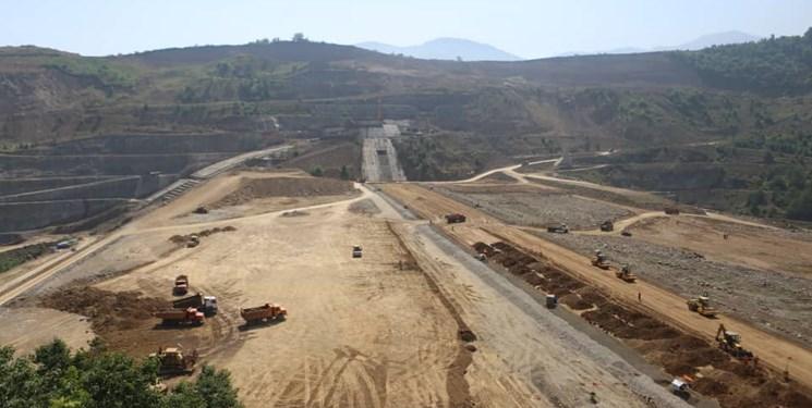 پیشرفت ۷۳ درصدی سد مخزنی پلرود گیلان/ بهرهبرداری در سال جاری