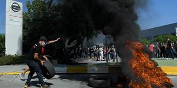 اعتراض هزاران نفر از کارگران نیسان به بسته شدن کارخانه در بارسلونا