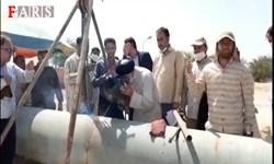 فیلم| یاریرسانی امام جمعه اهواز به پروژه آبرسانی غیزانیه