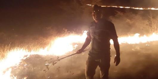 گسترش آتش در خائیز/پیشبینی ادامه آتشسوزی تا 2 روز آینده