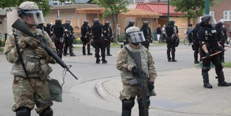 500 نیروی گارد ملی آمریکا در شهر مینیاپولیس مستقر شدند