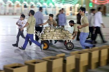 تهیه و توزیع ۱۰۰۰ بسته معیشتی بسیج دانشجویی قم