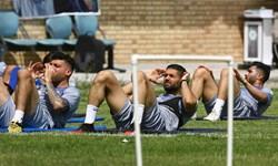 گزارش تمرین استقلال  بازگشت 2 غایب دربی در روز توصیههای مجیدی به بازیکنان