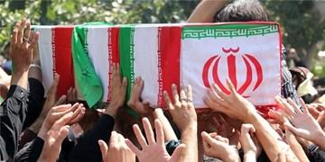 رجعت پیکر دو شهید مدافع حرم از کربلای خانطومان + عکس