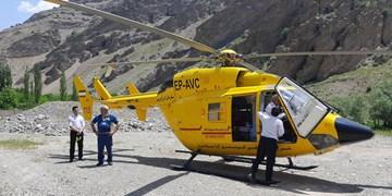 جاده چالوس مجهز به پد هلیکوپتر اورژانس می شود