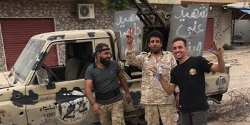 لیبی | پیشروی نیروهای دولت وفاق ملی به سمت فرودگاه طرابلس