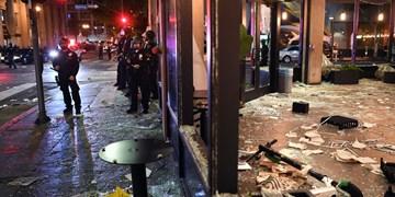 حمله به رستورانها توسط برخی معترضان آمریکایی