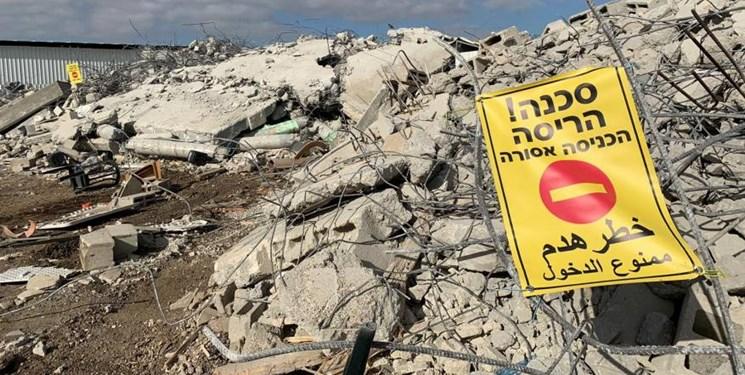 تخریب و مصادره ۵۹ ساختمان متعلق به فلسطینیها تنها در دو هفته