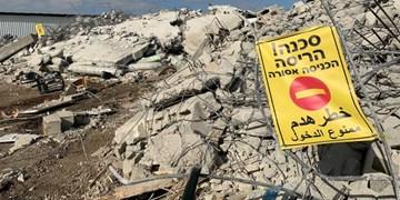 فیلم | تخریب منازل فلسطینیها در اراضی اشغالی 1948