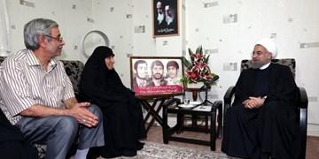 روحانی در پیامی درگذشت مادر شهیدان مهدوی زفرقندی را تسلیت گفت