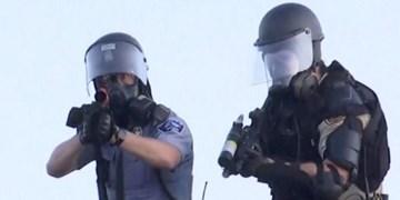 عکس | پلیس آمریکا خبرنگاران رویترز را هدف گرفت
