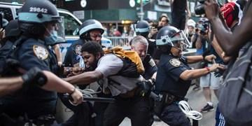 پلیس لسآنجلس: از ابتدای اعتراضات 2700 نفر بازداشت شدند