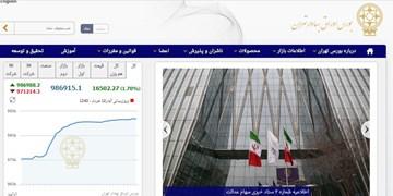 رشد 16 هزار و 575 واحدی شاخص بورس تهران