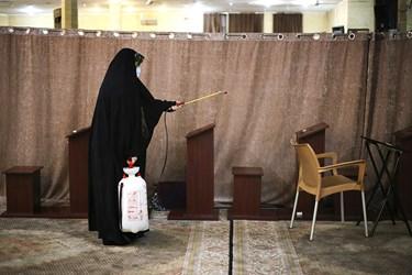 بازگشایی مساجد تهران /مسجد ولیعصر(عج)