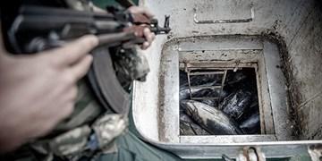 توقیف ۴ فروند شناور غیرمجاز در مجاورت جزیره فارور