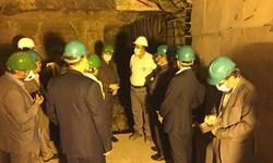 ادامه عملیات اجرایی زیرگذر گلوبندک