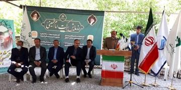 افتتاح پروژه آبرسانی دره بید لوداب به نمایندگی از 25 پروژه در کهگیلویه و بویراحمد