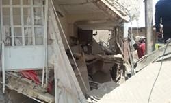 رهاسازی 8 مصدوم انفجار ساختمان مسکونی در بلوار انصارالحسین