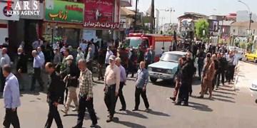 فیلم| مراسم گرامیداشت رحلت امام در آستانهاشرفیه