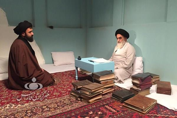 13990313000735 Test PhotoL - شکرخدا گودرزی: شباهتم به امام غافلگیرم کرد!/ بازیگری که همه کتاب های امام خمینی(ره) را خوانده است