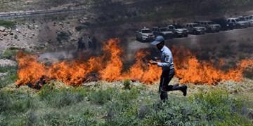 خطای انسانی 5 هکتار از مراتع استان اصفهان را به آتش کشید
