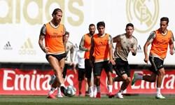 حرکت جالب کاپیتان رئال مادرید در تمرینات