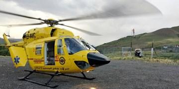 دو عملیات نجات بخش اورژانس هوایی البرز