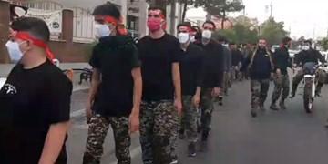فیلم| راهپیمایی سوگواران سمنانی به مناسبت سالگرد ارتحال امام