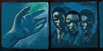 سیاهپوستانی در نقاشی عروج امام(ره) + تصاویر