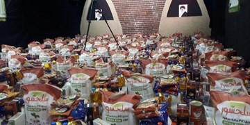 کمک مؤمنانه خیران اسلامشهری با توزیع ۱۱۰بسته حمایتی