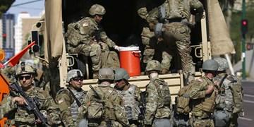اعزام 1600 نیروی ارتش آمریکا به واشنگتن دی سی
