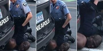 اقدامات پلیس آمریکا تجلیگر خوی درندگی آنان است