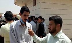برای  تجدید بیعت با آرمانهای امام به مناطق محروم اهواز آمدیم