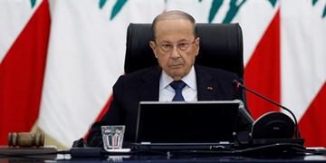 رئیسجمهور لبنان فرضیه انفجار انبار مهمات حزبالله را قویا رد کرد