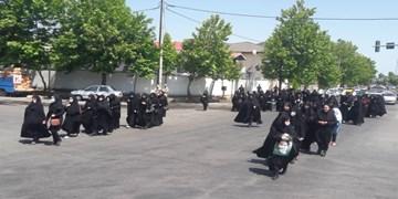 فیلم | عزاداری خیابانی مرزداران غرب گیلان در سالروز ارتحال امام(ره)
