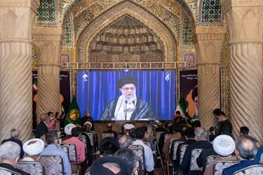 بزرگداشت سالگرد رحلت امام خمینی (ره) در مسجد وکیل شیراز