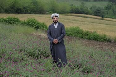 حجتالاسلام  ابراهیم خرمدل، روحانی ساکن در  روستای زرین گل از توابع شهرستان علی آباد در  استان گلستان