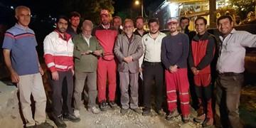 فیلم| ۸ ساعت عملیات نجات در ارتفاعات مهدیشهر