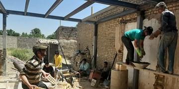 فیلم| این گروه جهادی خانه محرومین را بازسازی میکند