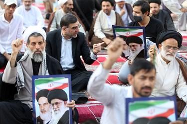 حضور امیرآبادی نماینده مردم قم در مراسم بزرگداشت یوم الله 15 خرداد در مدرسه فیضه