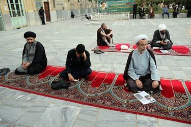 بزرگداشت یوم الله 15 خرداد در مدرسه فیضه