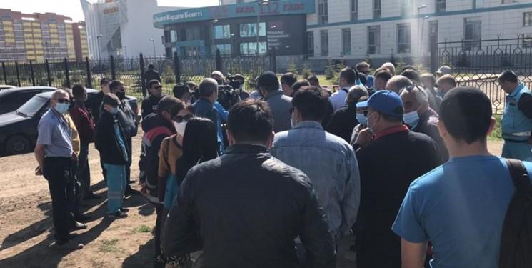 وزیر بهداشت قزاقستان: تا تثبیت وضعیت در تظاهرات شرکت نکنید