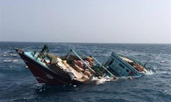 شناور باری  بهبهان در آبهای عراق غرق شد